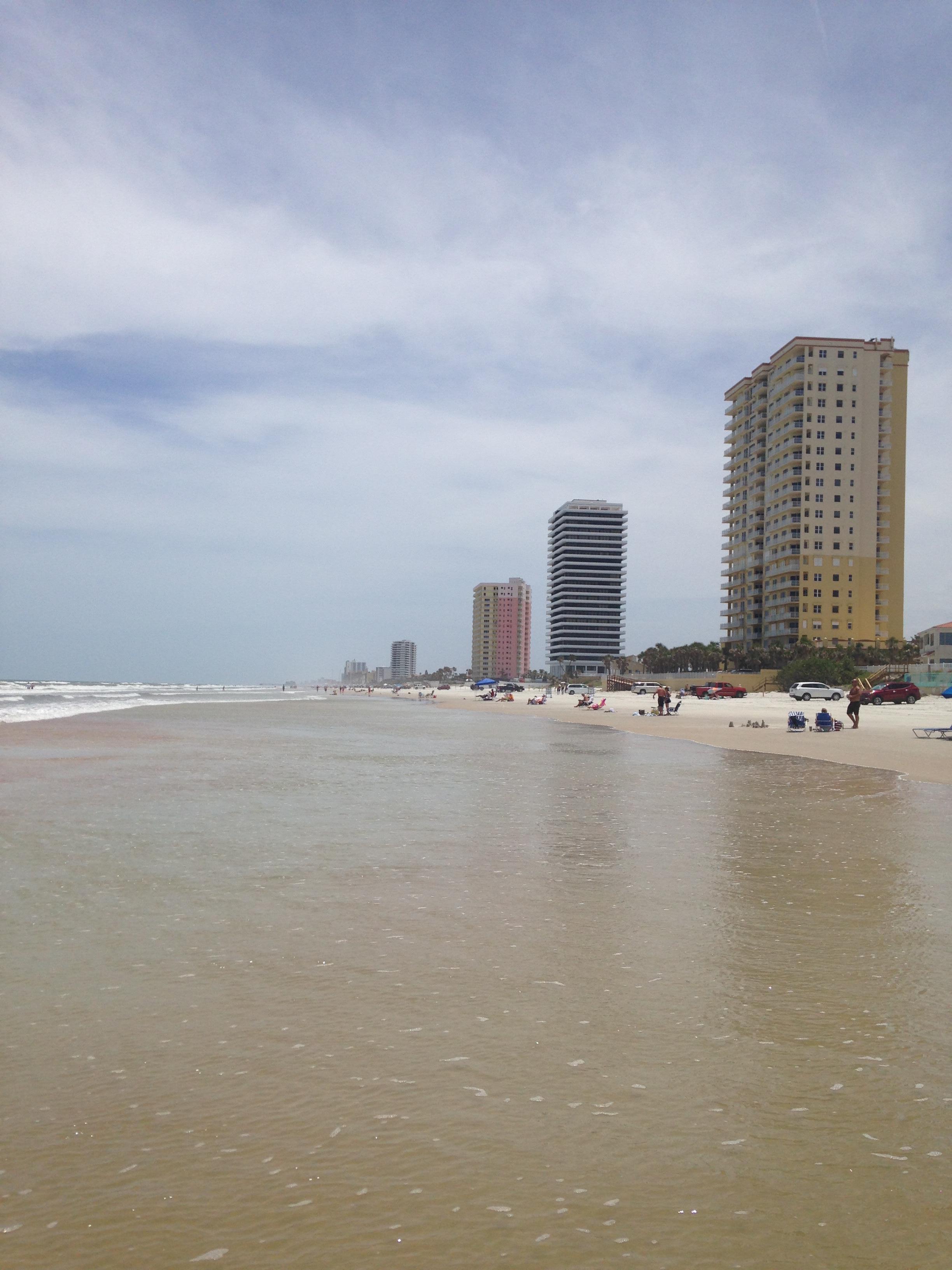 Great spot on beach