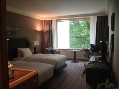 View of our spacious room
