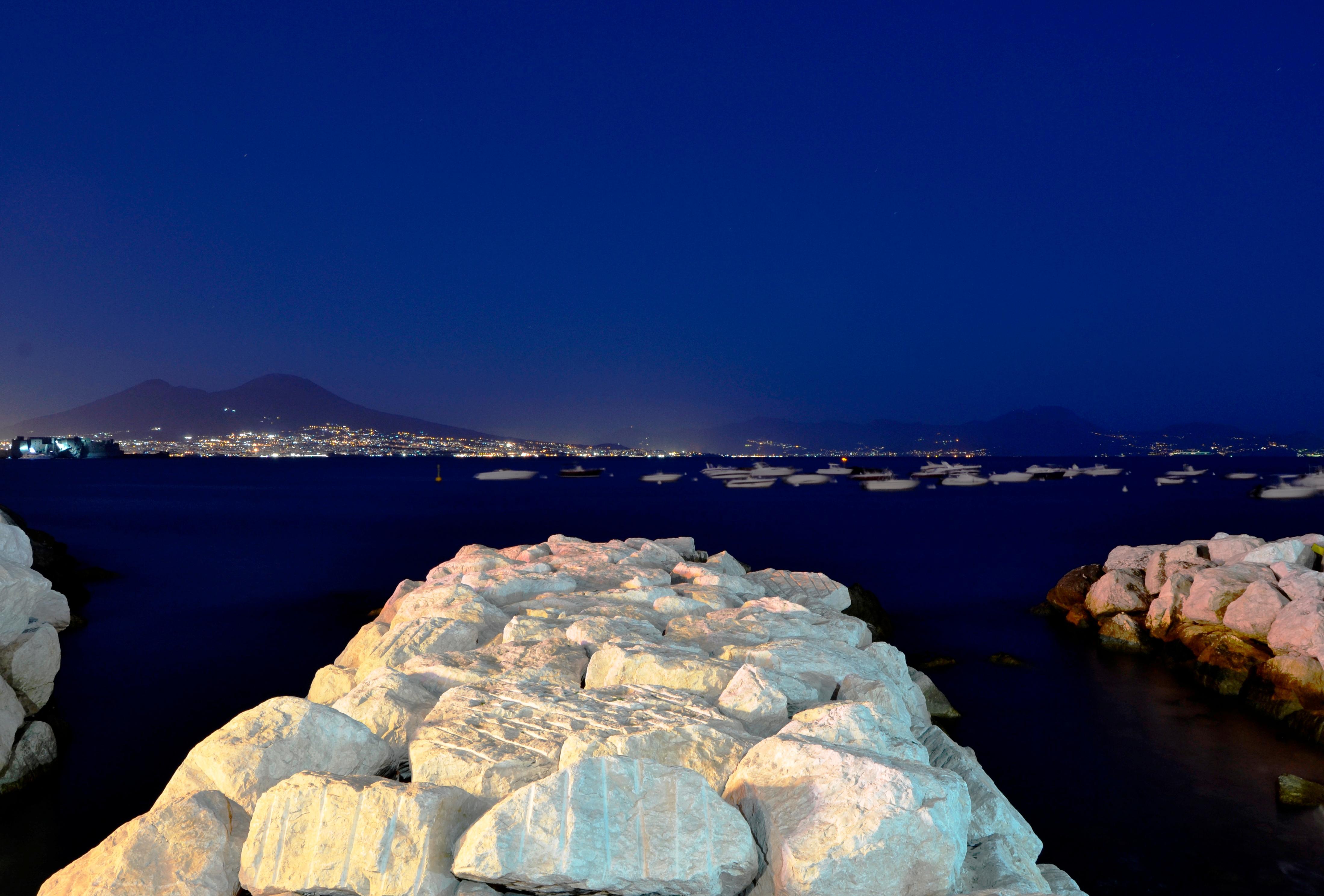 Mount Vesuvius from Porto de Mergellina, 10 mins by Metro