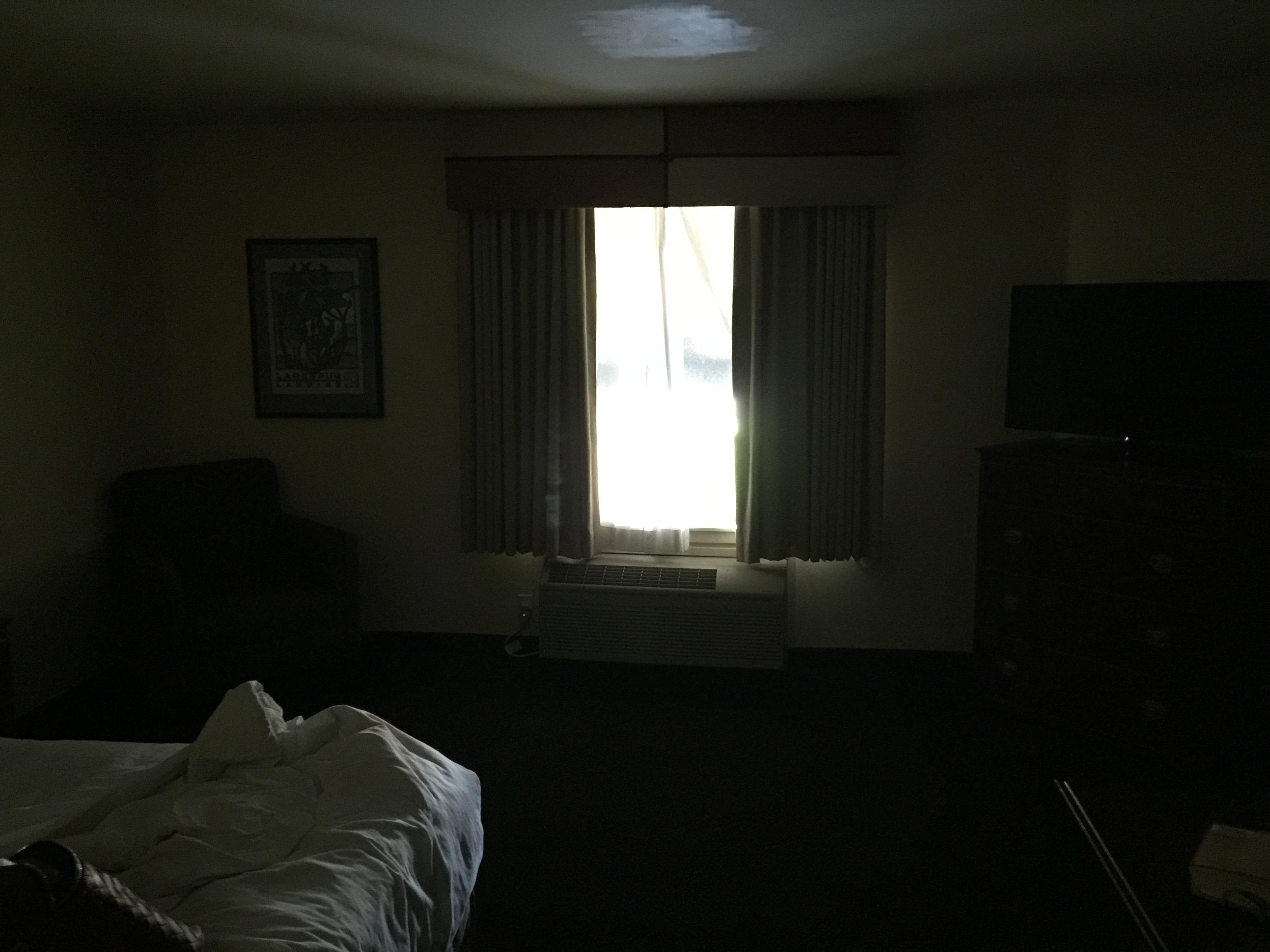My room in the MIDDLE of the day