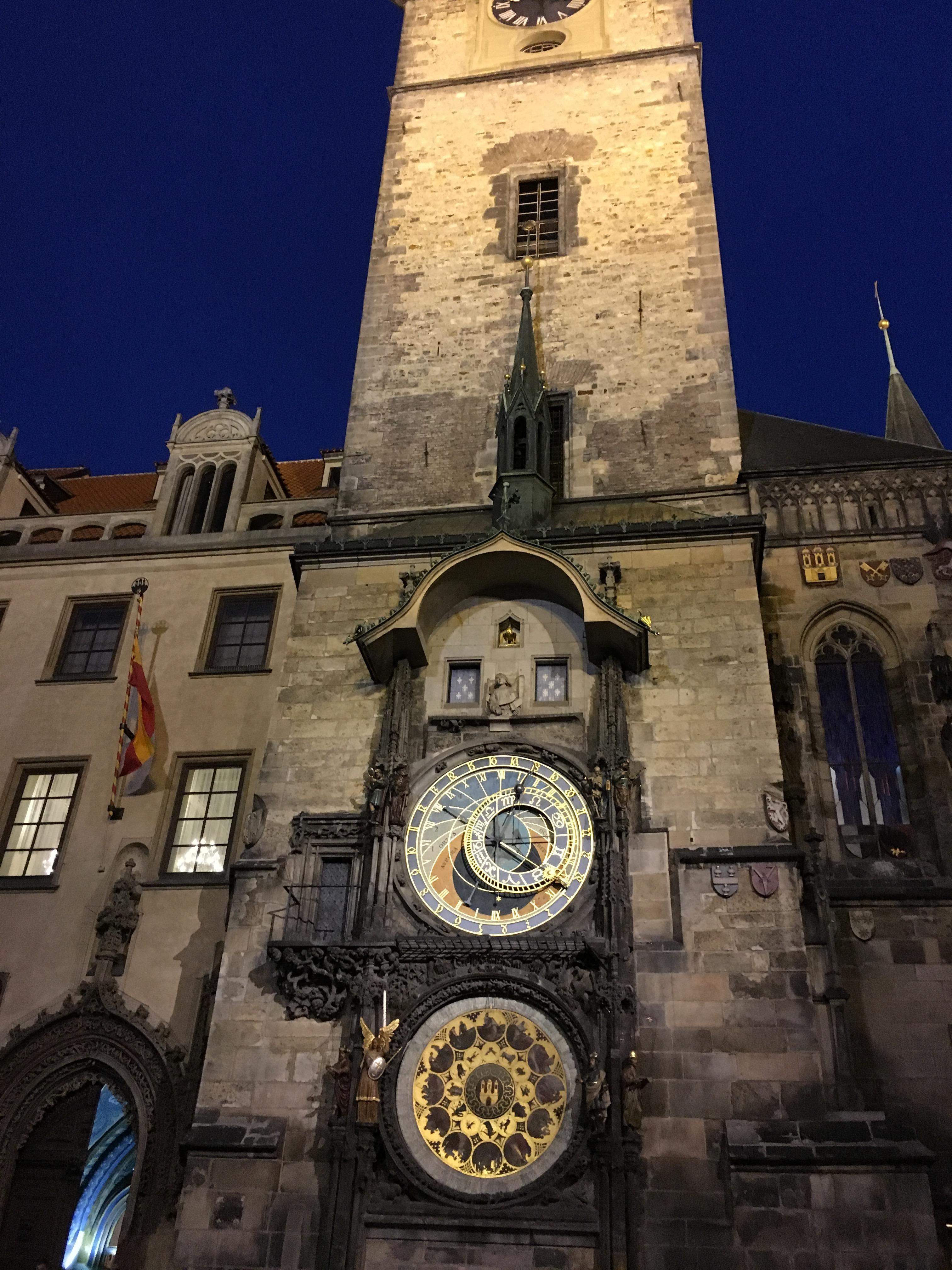 The Astronomic Clock at Prague