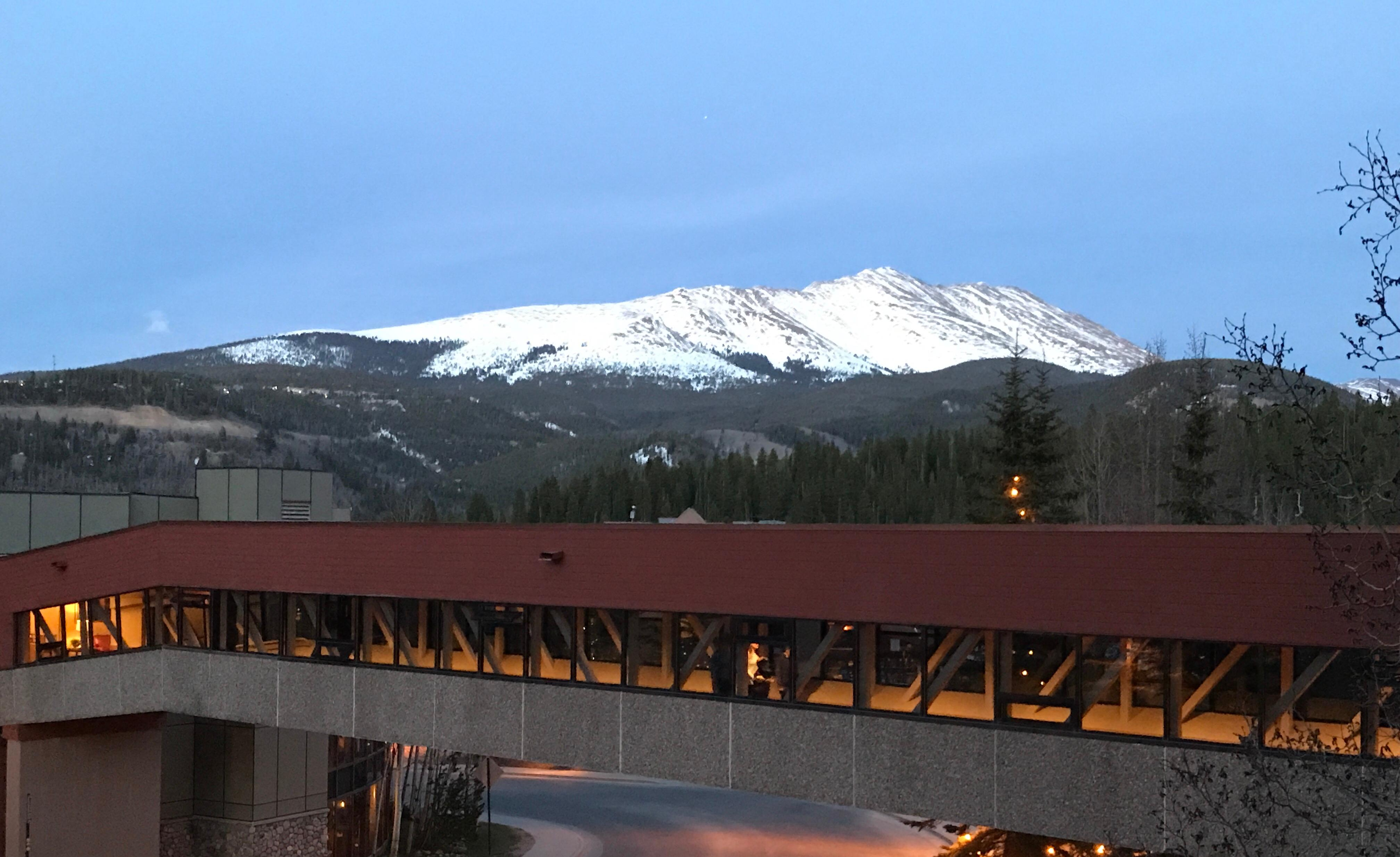 View from my Colorado Suite