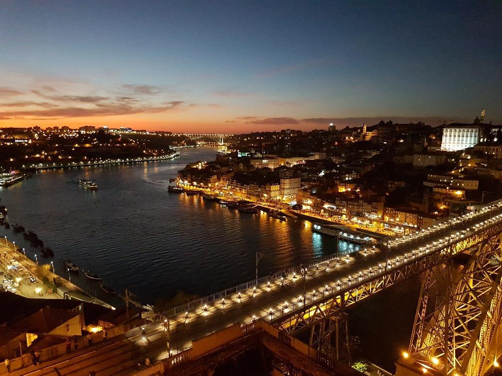 Couché de soleil à Porto