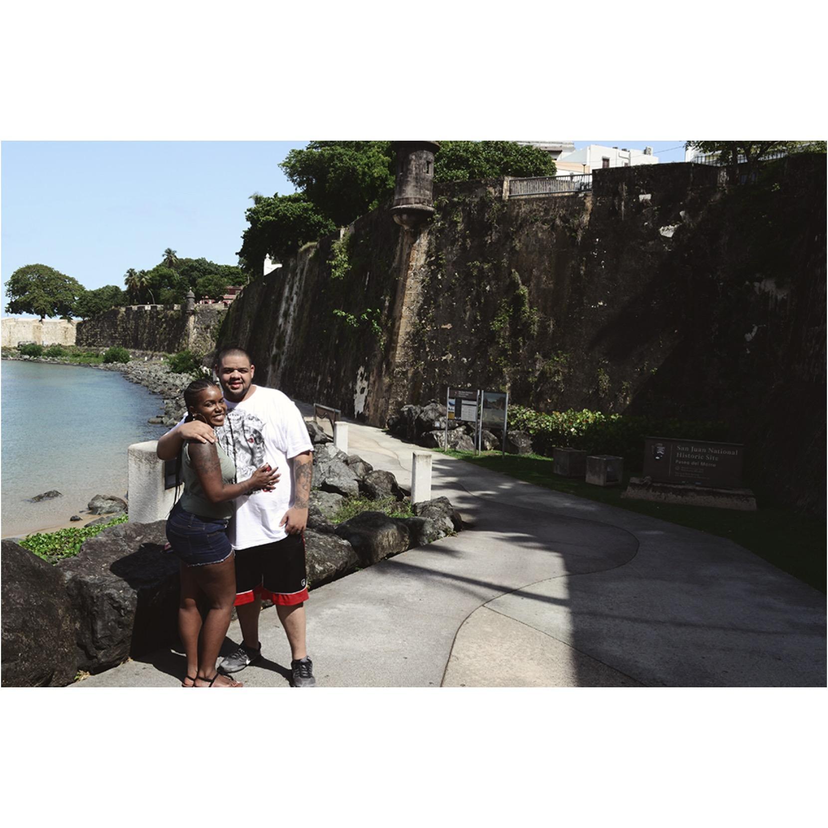 Celebrating our 5th wedding anniversary in San Juan