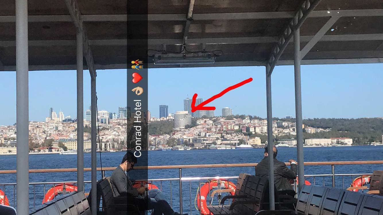 Sicht aus dem Schiff