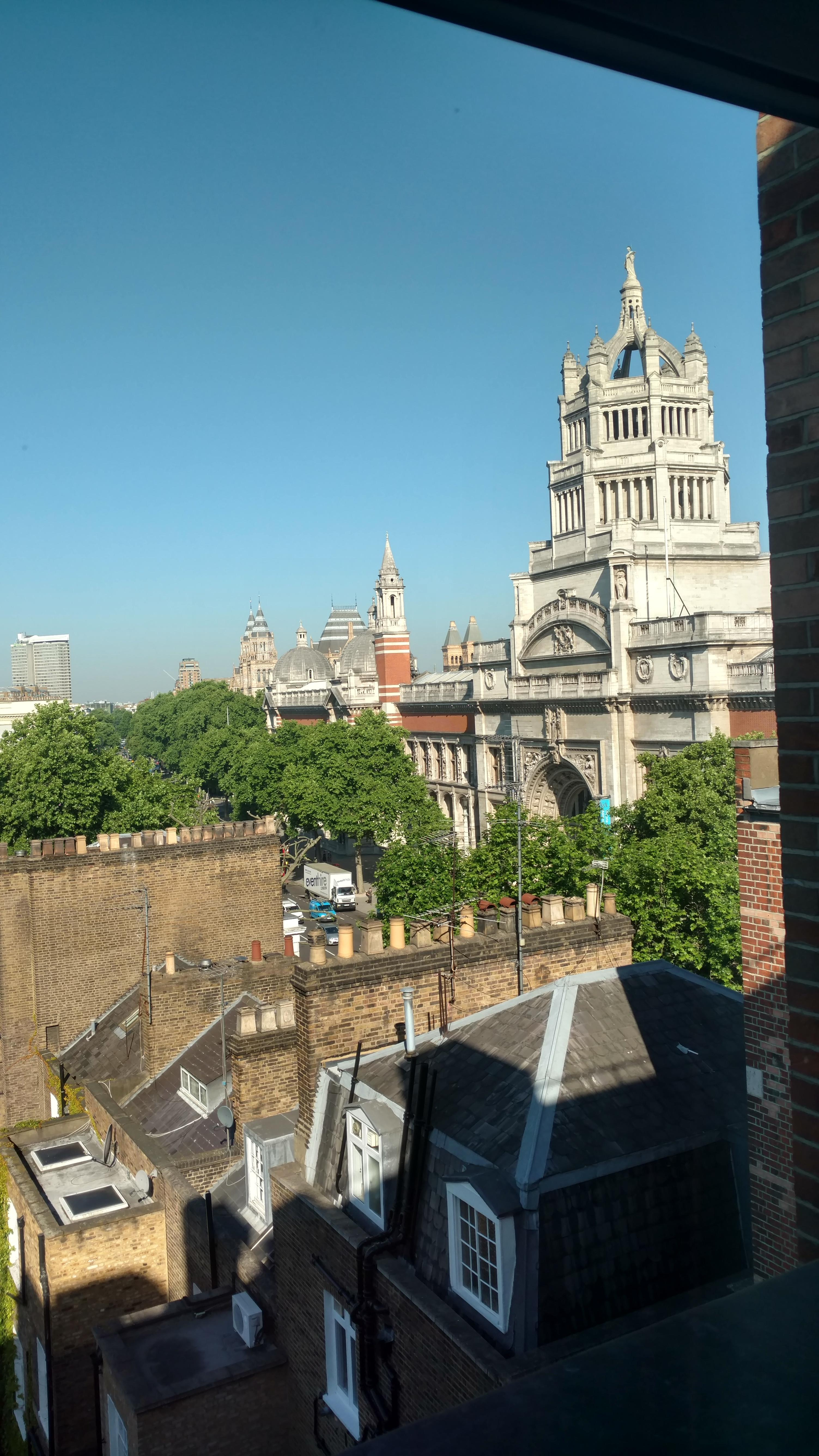 View of V&A from my 6th Floor Window