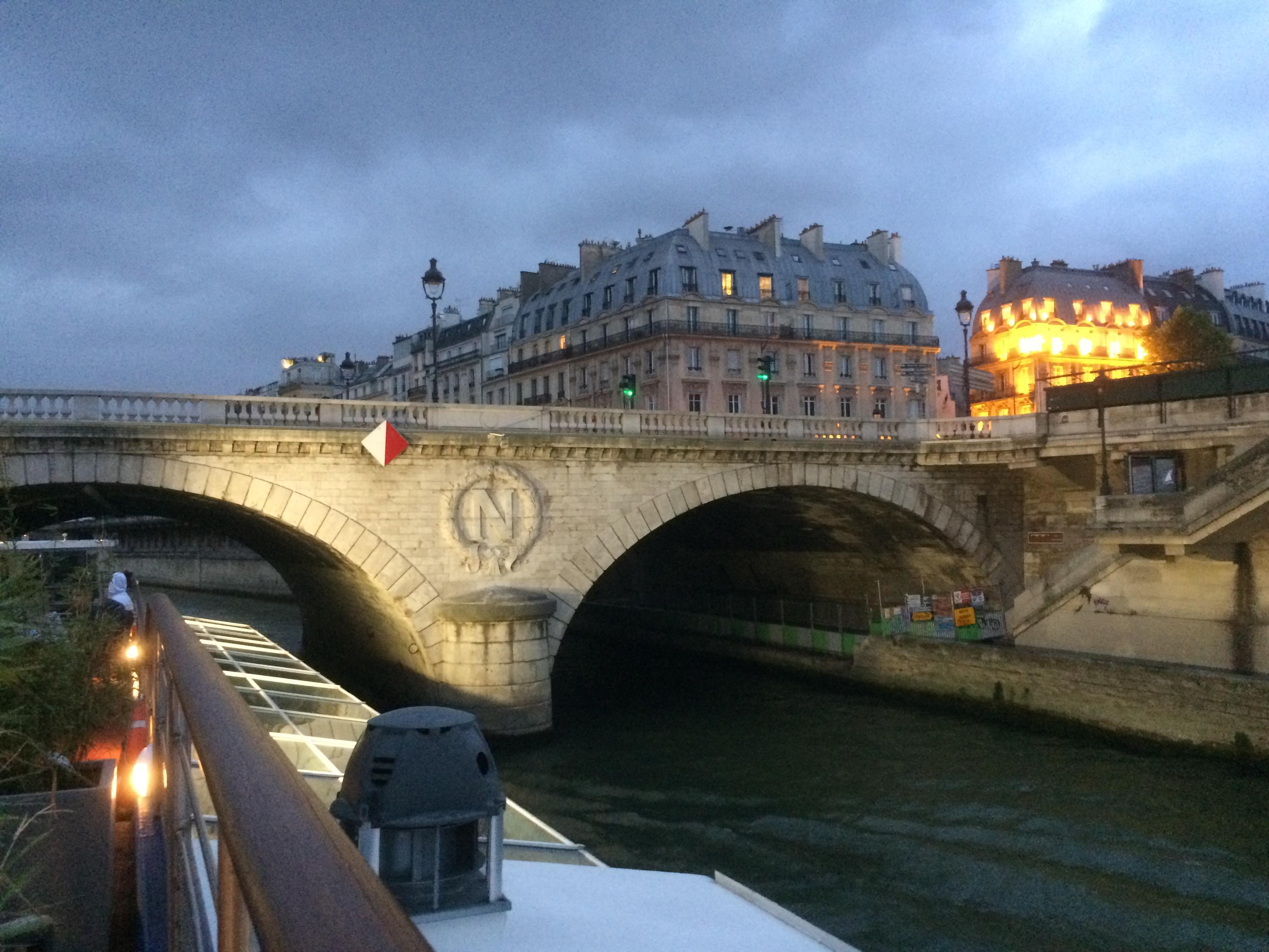 Seine River Cruise at night