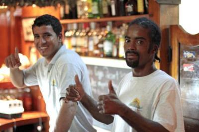 Humberto & Dean, some of the great staff at the resort