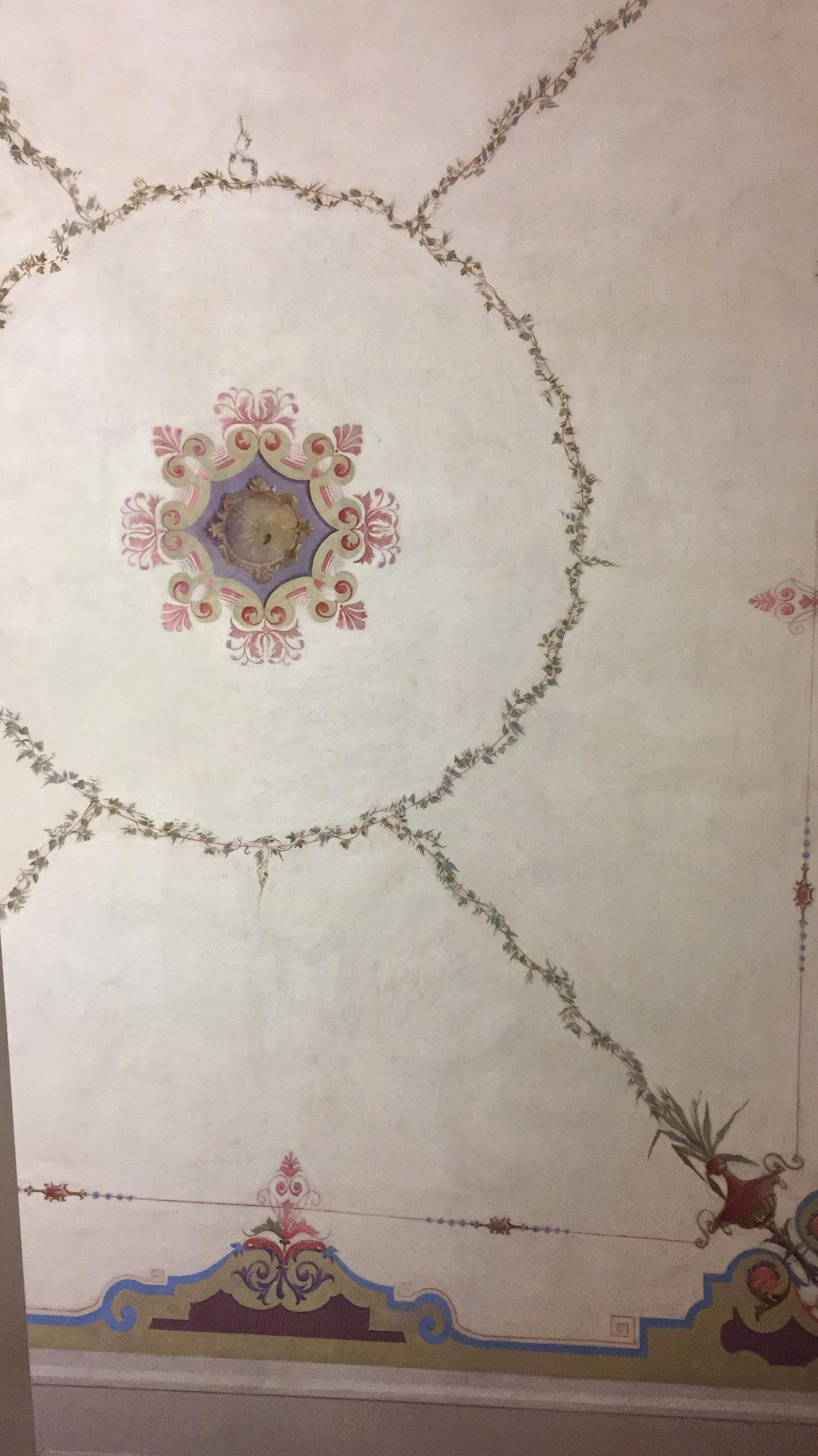 Ceiling in room