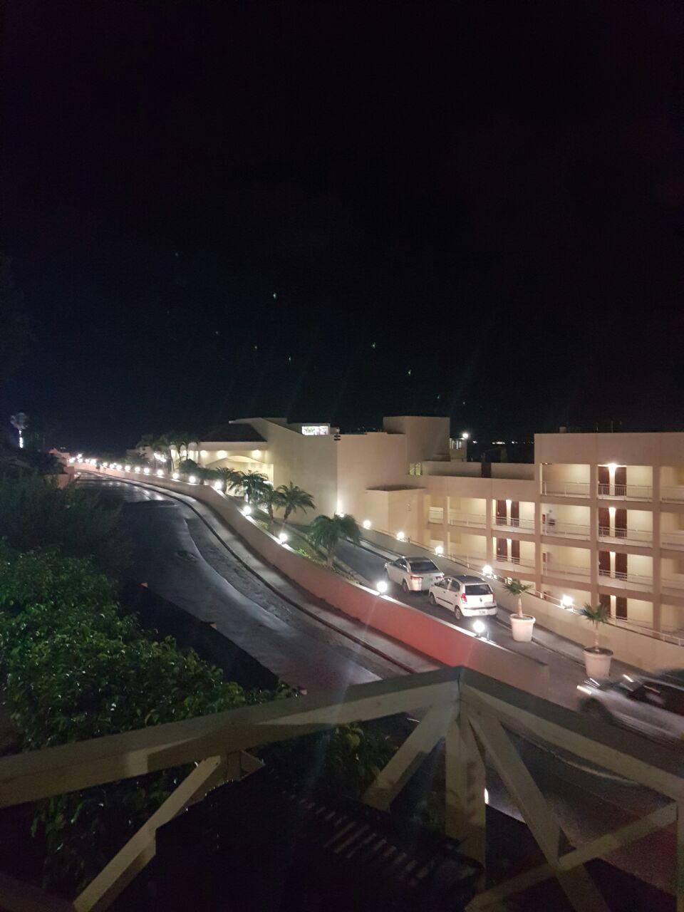 Projection cinéma sur le toit de l hotel