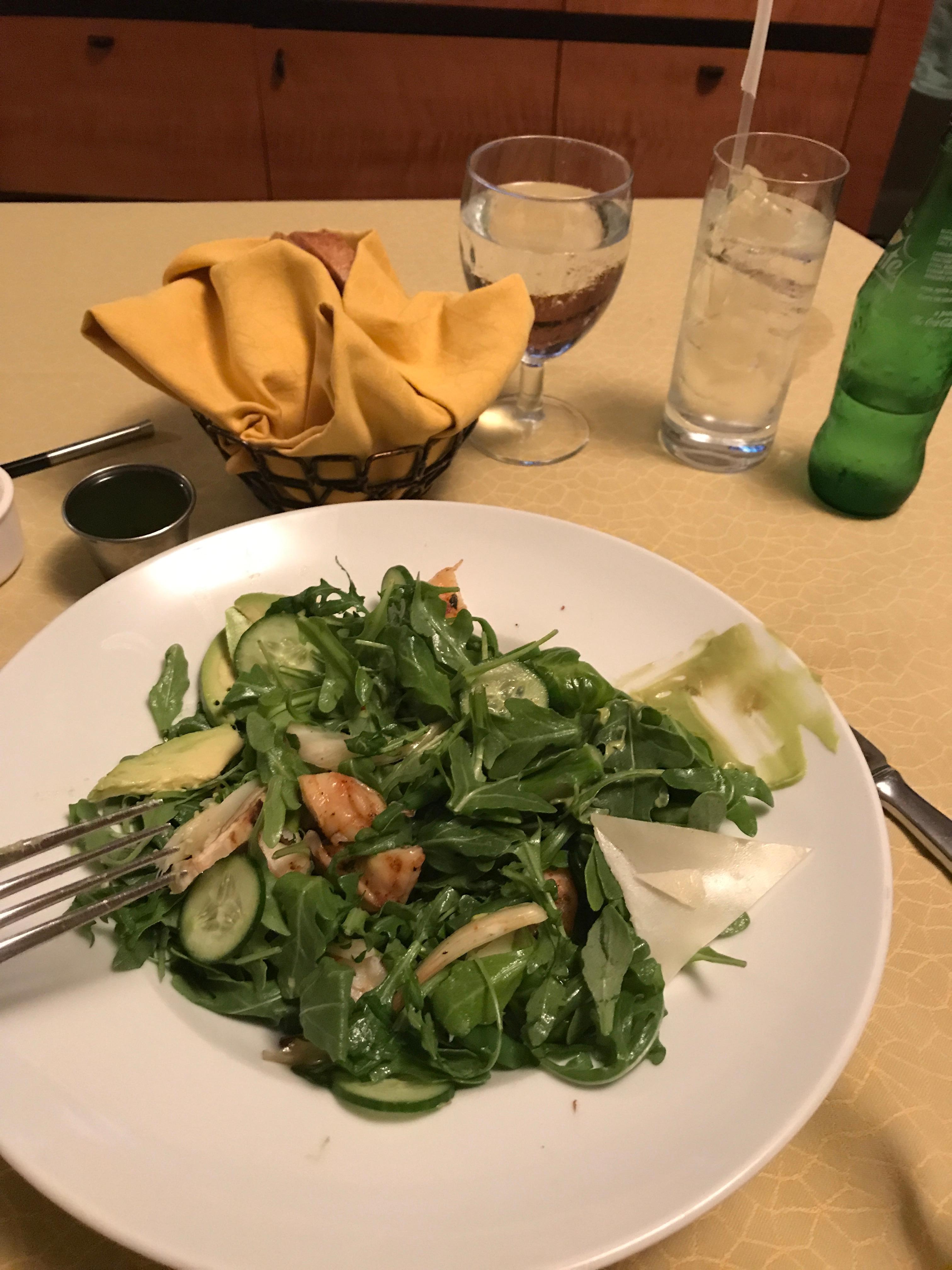 This salad was delicious!