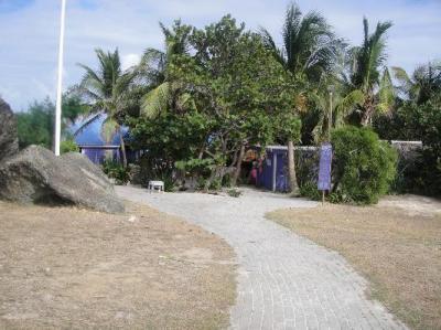 Path to Coco beach