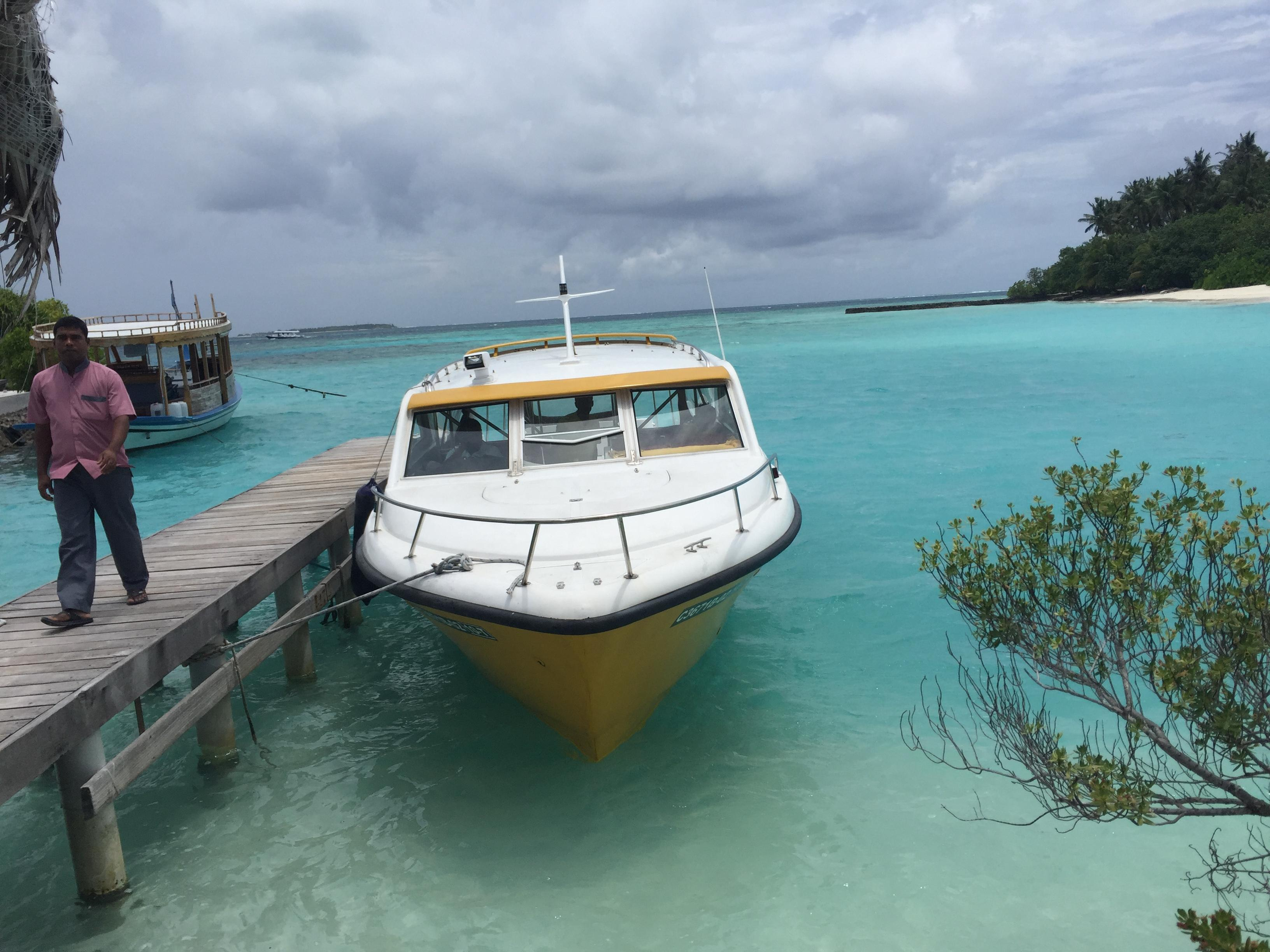 Your boat transportation to the island