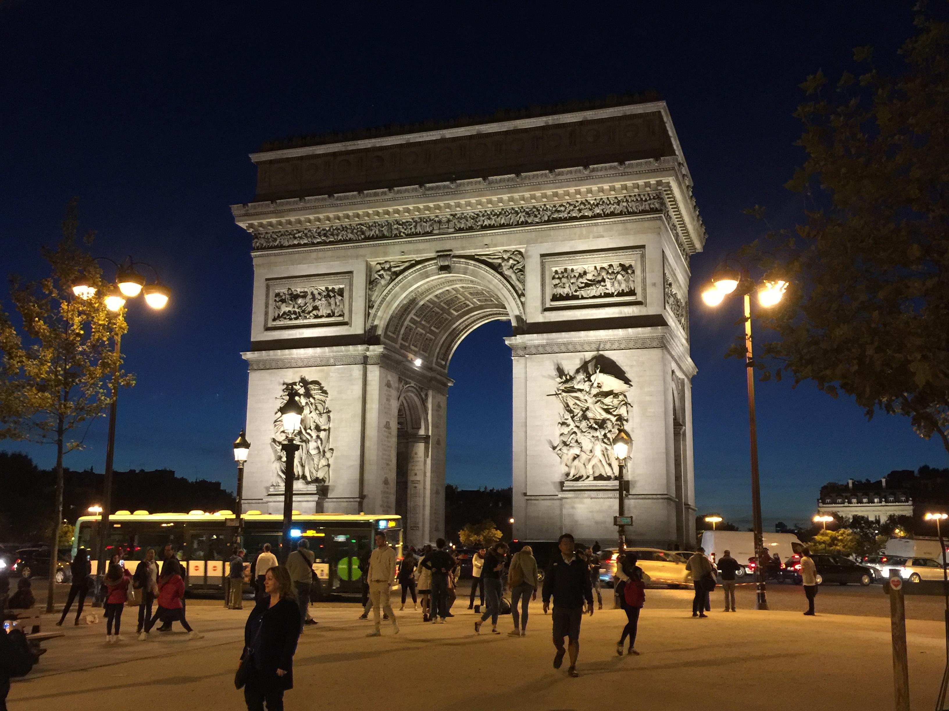 Arc de Triomphe closeup