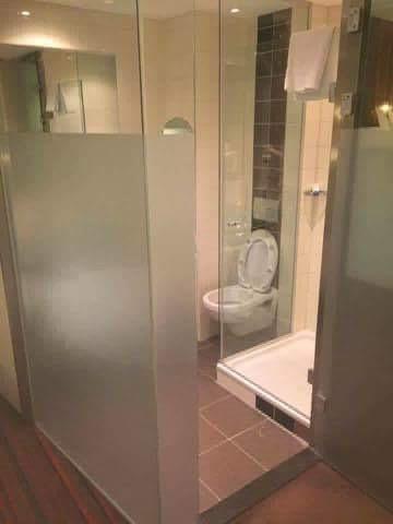 Unusual bathroom!